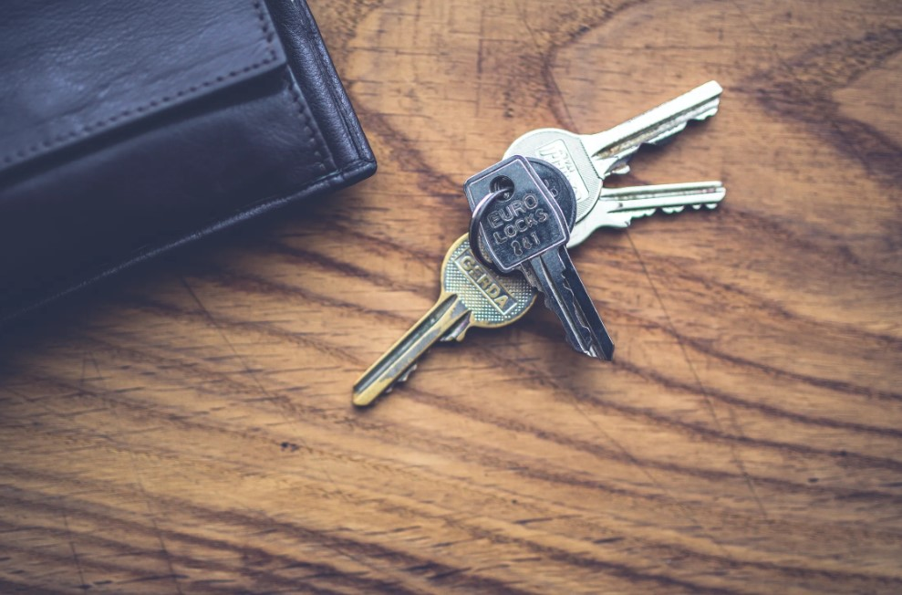 Nøgler-pengepung