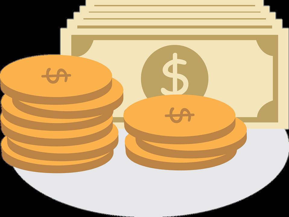 tegnede penge