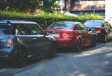 Parkering-biler